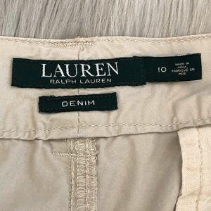 Lauren Ralph Lauren Pants & Jumpsuits - Lauren Ralph Lauren Denim | Tan Ankle Khaki Pants